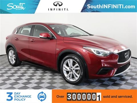 Certified Pre-Owned 2017 INFINITI QX30 Base